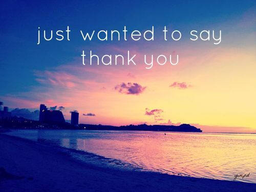 candleinthe-dark:  thank you | via Facebook di We Heart It http://weheartit.com/entry/61611032/via/stickypapercut