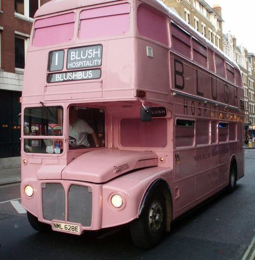 purebeachboho:  all buses should be this colour OMG I would ride it <3
