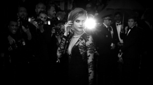 vsupdates:  Cara Delevingne at the opening ceremon and premiere of 'The Great Gatsby' during the 66th Annual Cannes Film Festival in Cannes, France on May 15, 2013