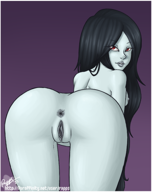 Marceline's butt :V (if you don't want to see adventure time porn, block the atporn tag)