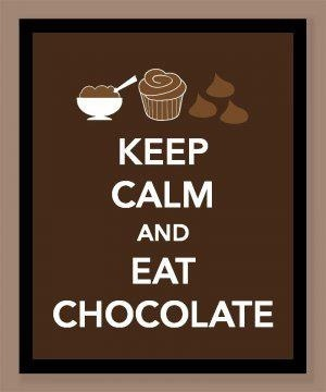 inspiring quotes / Eat chocolate!  ❤❤