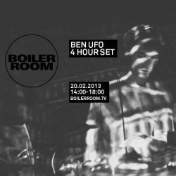 Ben UFO will be in the Boiler Room playing records all afternoon tomorrow