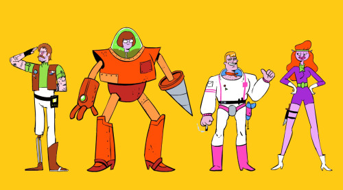 eatsleepdraw:  Scooby Doo team as space adventurers spinkickbros.tumblr.com