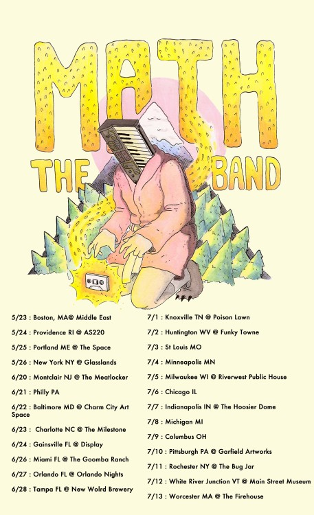 maththeband:  SUMMER TOUR 2013