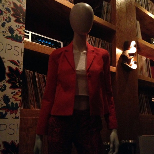 A look at new Topshop collection at the pre-Fashion Week shopping preview party. Photographed by Julia Rubin.