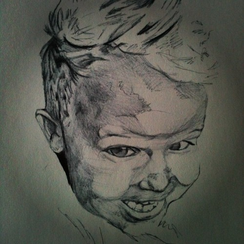 In progress #bic #scribbling #art #theballpointproject @ctrogg