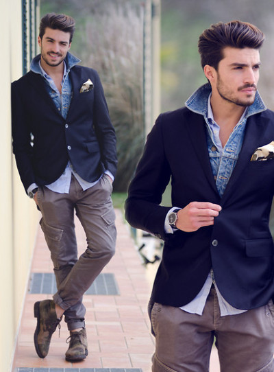mensfashionworld:  Country style. (by Mariano Di Vaio)