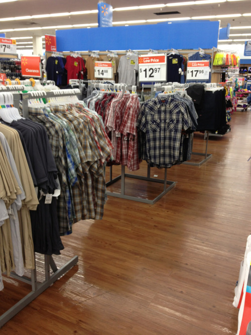 theangelsaresmiling:  I'm standing in Walmart looking sadly at plaid shirts. What has this show done to me?
