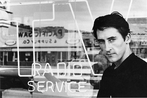 Still so handsome. One of my favorite parts from Ed Ruscha's talk last night: Blog Post: Hitchhiker, Daydreamer « Decade Diary