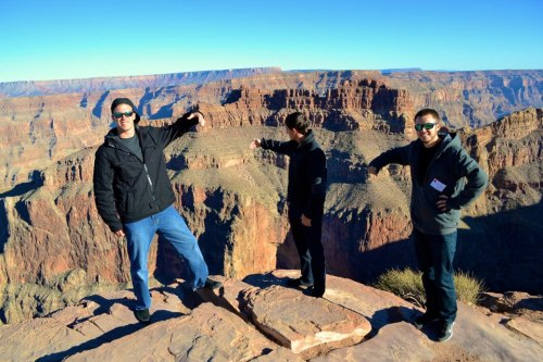 1st time seeing the Grand Canyon #Teoing