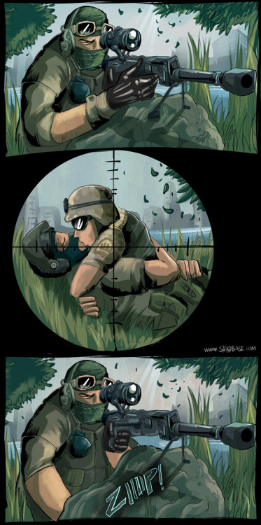 shadbase:  The Battlefield 3 experience early Shadbase comic from 2011