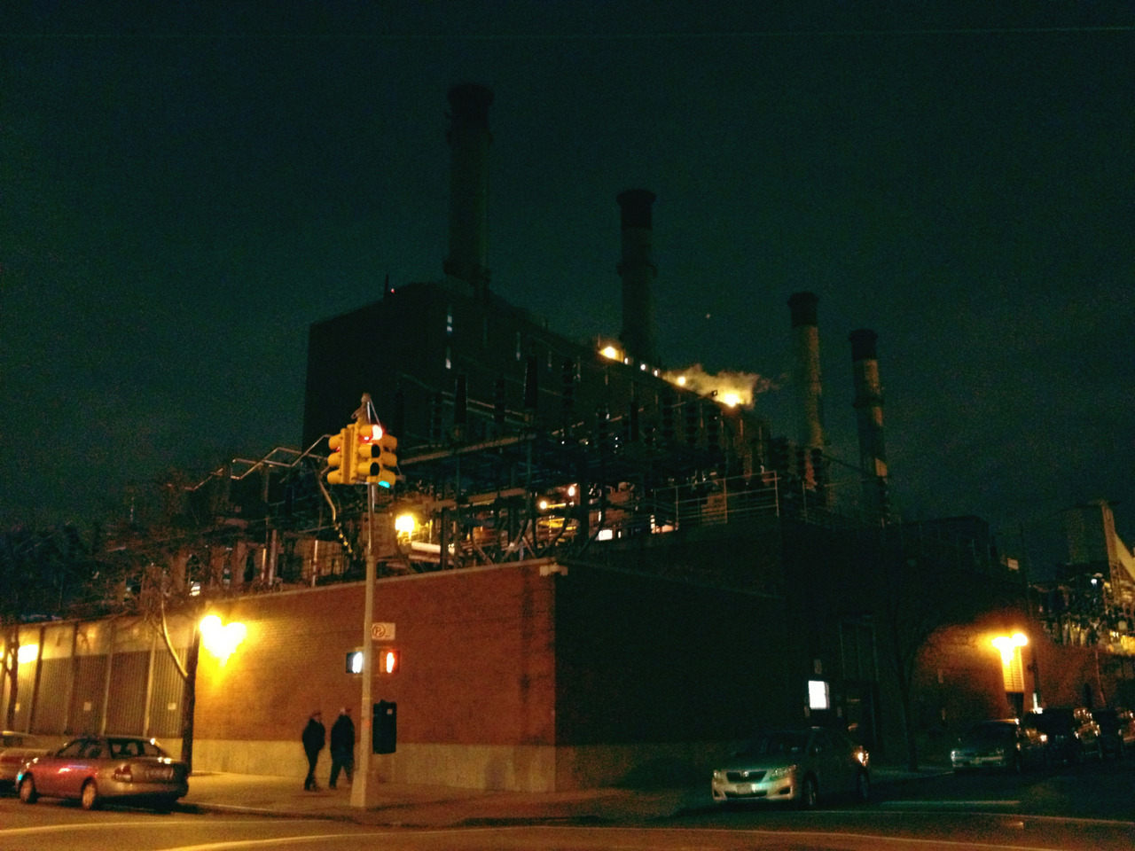Con Ed Power Plant on Avenue C