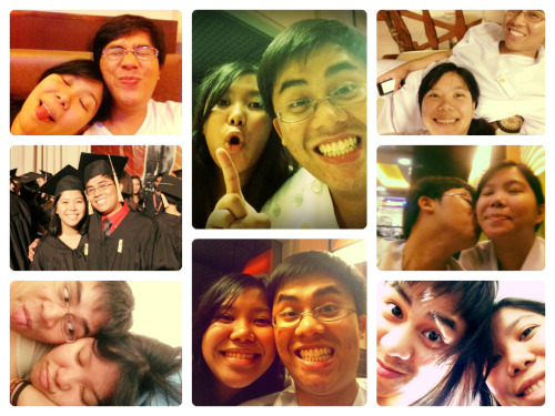Nothing compares to the 12 wonderful months we've spent together. Happy anniversary, Guian. I love you. :)