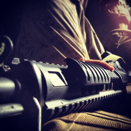 I #love #power #betweenMyLegs 🔫 #bang #hehe #dirty #m16 #usmc #marinecorps #marines #nails #cammies #7ton Apparently people can't take a joke. No shit an m16 ain't all that powerful but hey… I can still kill your ass with it if need be. That's enough power for me thanks. :)