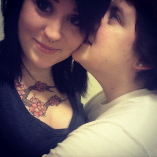 Crazy bitch <3 #girlfriend  #love #lesbian