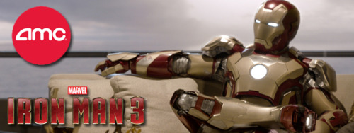 marvelentertainment:  Experience Marvel's Iron Man Marathon at 110 AMC Theatres across the country! Re-live Marvel's Iron Man, Marvel's Iron Man 2, and Marvel's The Avengers, all culminating in Marvel's Iron Man 3! Which of the Armored Avenger's cinematic adventures is your favorite so far?