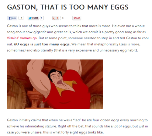 disneyismyescape:  Disney makes me laugh whenever they make something about Gaston