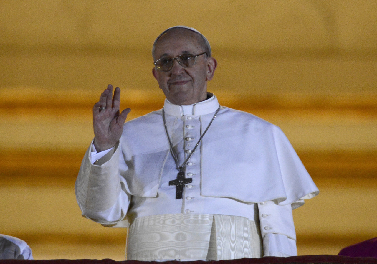 "reuters:  Jorge Mario Bergoglio of Argentina was elected in a surprise choice to be the new leader of the troubled Roman Catholic Church on Wednesday, and said he would take the name Francis I. Pope Francis, 76, appeared on the central balcony of St. Peter's Basilica just over an hour after white smoke poured from a chimney on the roof of the Sistine Chapel to signal he had been chosen to lead the world's 1.2 billion Roman Catholics. The choice of Bergoglio was announced by French cardinal Jean-Louis Tauran with the Latin words ""Annuntio vobis gaudium magnum. Habemus Papam"" (""I announce to you a great joy. We have a pope"" READ ON: Argentina's Bergoglio elected as new pope  Habemus Papam! We have a new pope. I'm no devout Catholic but somehow every time a new pope is elected, my hope for an even more open, relatable Church is renewed. That is notwithstanding his historically conservative beliefs."