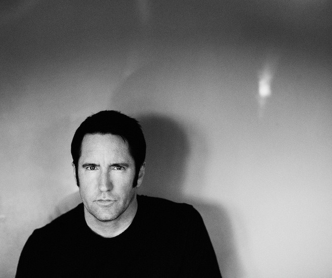 nineinchnails:  Trent Reznor, 2.21.13, Los Angeles. Photo by Rob Sheridan.