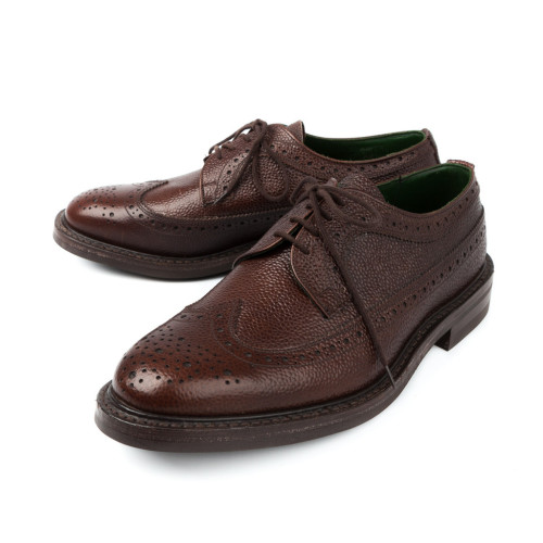 """It's on Sale: Tricker's Shoes and Boots at Frans Boone One of my favorite web shops, Frans Boone, has discounted its line of Tricker's makeups by 50 percent with the code SUMMER50, putting many shoes and boots in the $250-$300 range (cordovan $450-$500), including shipping to the United States. Tricker's are sturdy British shoes and the models Frans Boone carries take full advantage of that, with uppers in scotch grain like the brogues pictured above, or """"repello"""" suede, a treated, water resistant suede, as well as Dainite or Vibram rubber soles—perfect for the upcoming fall weather in the United States. Two things to note: sizes are quite limited (one or two per model), and orders to the United States may incur brokerage fees from UPS (i.e., you may owe the UPS driver a small check when he shows up to deliver your shoes). -Pete"""