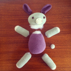 Deconstructed bunny / work in progress…