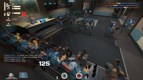 shitpeoplesayintf2:  This is how you play 2fort, right?