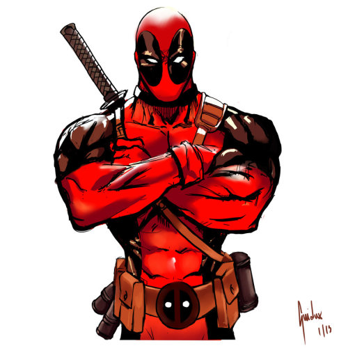 Deadpool Sketch 1 by ~Guidux92