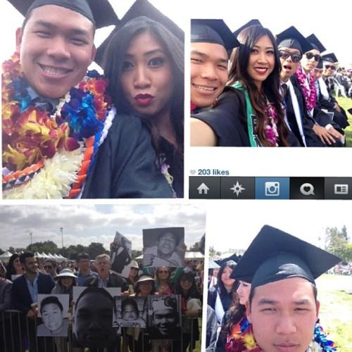 #wedidit #CSUF #Classof2013 #Entrepreneurship #IVANiloveyoumomLU 🎓🎉 #LEID @lalalleahh @av6 @tiffhuang615  (at CSUF graduation)