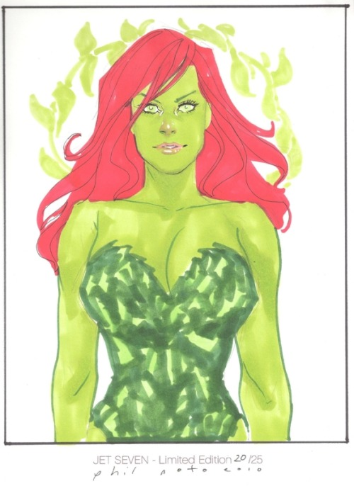 Poison Ivy by Phil Noto