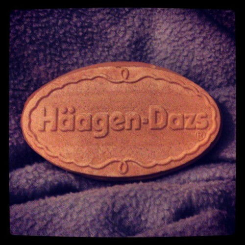 Mmmm #häagendazs #caramel #icecream #cookie #gf #present #love #happiness