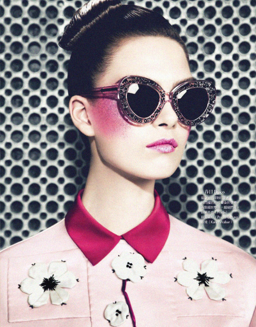 voguelovesme:  VOGUE TAIWAN APRIL 2013