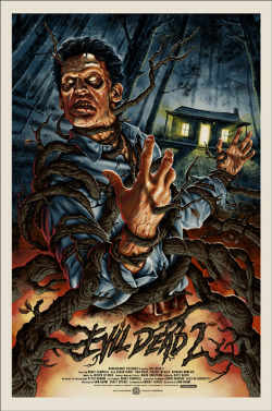 slasherfilmsanctuary:  Evil Dead 2 By Jason Edmiston