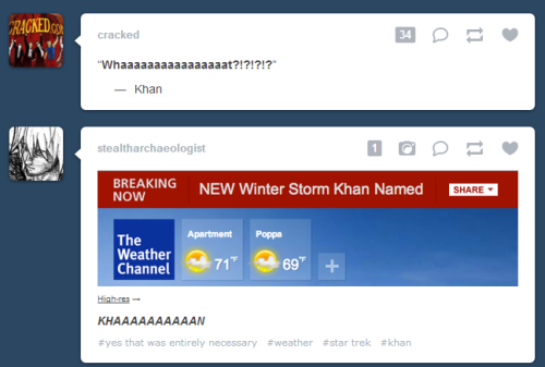 Ah tumblr, I love it when you line up.