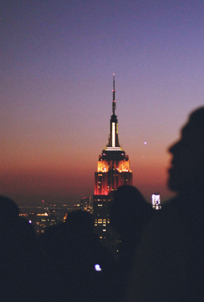 dreaming-ofm0nsters:  nippynorth:  Went up the Rockefeller Building when I was in New York with friends. We randomly timed it perfectly for sundown. The view is epic. Better to go up the Rockefeller and actually see the Empire State Building I think. Plus there isn't loads of hassle from people trying to sell you tickets at the bottom. Empire State Building (by Matt(ikus))   dreaming-ofm0nsters.tumblr.com