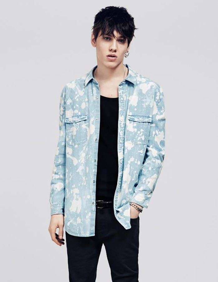 mensfashionworld:  Topman Denim Spring/Summer 2013