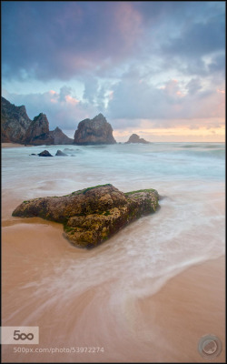 Sunset at Ursa Beach, Portugal - MarcoLopes - http://ift.tt/1jTIQST