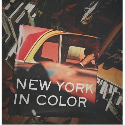 Inspiration at Mcnallys // New York in Color by Bob Shamis  #photograhy #nyc #culture  (at McNally Jackson Books)
