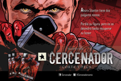 Cercenador is coming at some point in the next few weeks, with and english translation planned along the road. Keep an eye on twitter and facebook for news and previews.