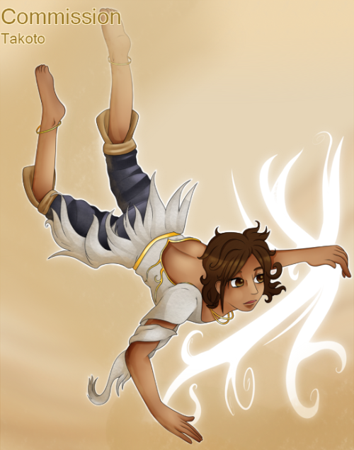 DeviantArt Version Elika from Prince of Persia (2008) c:
