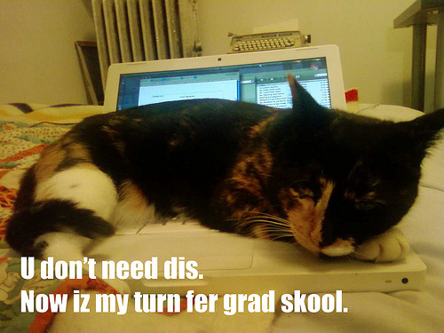How to Survive Grad School! Pro-tip: time management is hella' important. Get a planner and get yo' self organized. It makes life so much less painful.