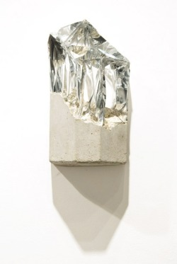 Silver and Cement—Richard Tuttle