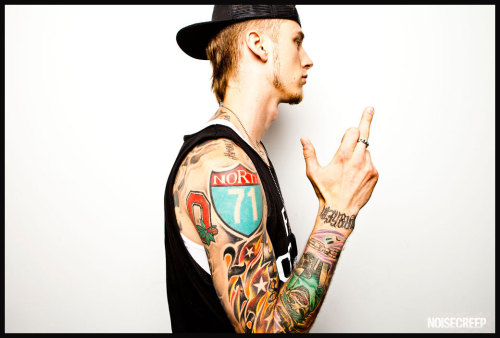I photographed Machine Gun Kelly, see more photos here: http://www.noisecreep.com/2013/02/27/machine-gun-kelly-heavy-metal/