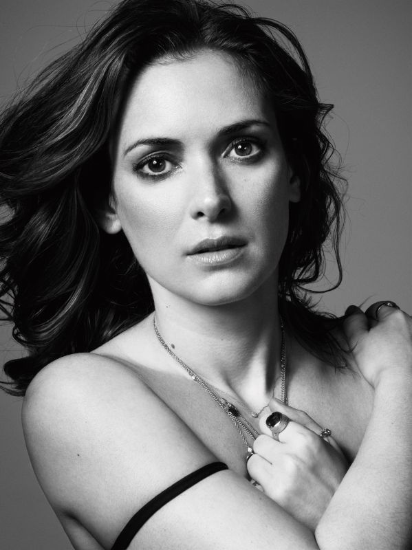 Winona Ryder Photographed by Mark Abrahams for American GQ January 2011