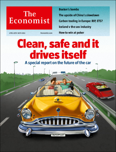Tomorrow's cover today: cars have already changed the way we live. They are likely to do so again.