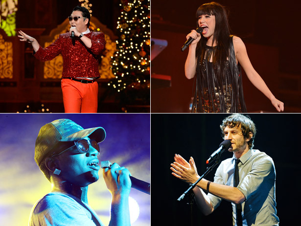 From Psy to Carly Rae, we've got your 8 most viral music sensations of 2012.