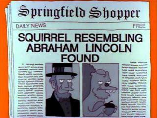 Every newspaper headline from every episode of The Simpsons, ever. via @c_heller