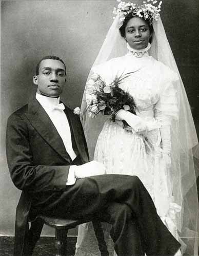 Wedding Day, by James Van Der Zee