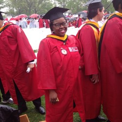 My girl did it, congrats Ose #stjohns #classof2013 #you didit  (at St. John's University)