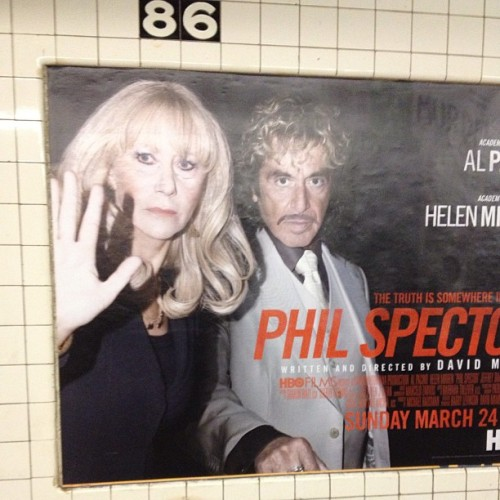 I see Helen Mirren on my commute every morning, and we are finally at that point where we wave to each other #blessed