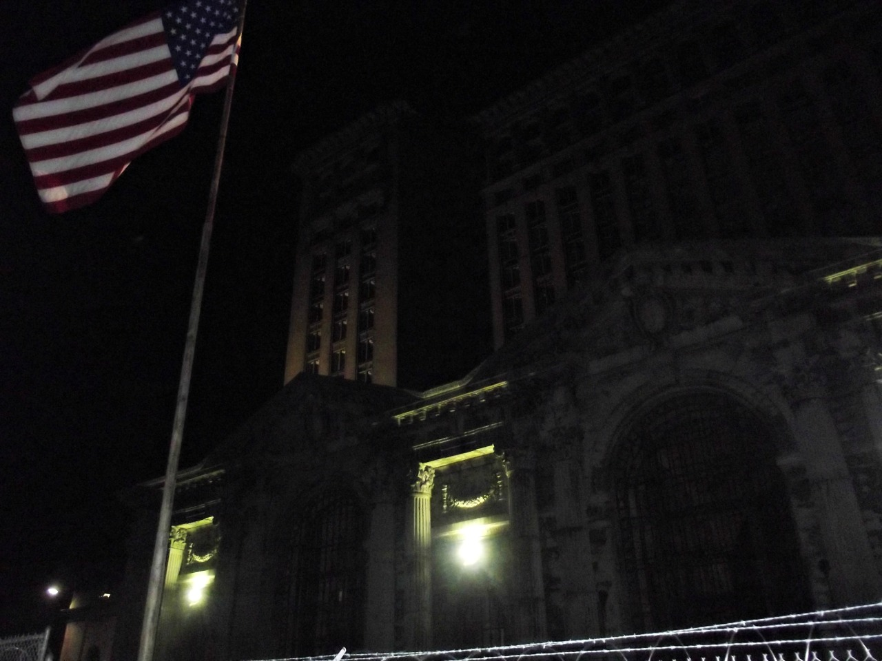 i went to down town Detroit around 2 am and took pictures, its sad how things can change it breaks my heart how Detroit went so down hill, i hope i see it get better… i swear it was a beautiful place, well that's what i herd.